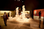 The British Museum, London. South American art room.