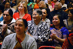 Audience watching a performance at Diwali Celebration,
