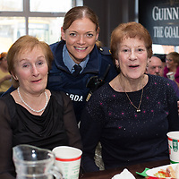 Ita Welsh, Nancy McDonagh from Shannon with Garda Lorraine Quaine