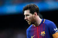 FC Barcelona's Leo Messi during La Liga match. March 4,2018. (ALTERPHOTOS/Acero)