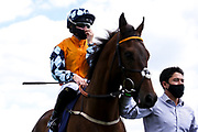 Dream Today ridden by Saffie Osborne trained by Jamie Osborne - Mandatory by-line: Robbie Stephenson/JMP - 22/07/2020 - HORSE RACING - Bath Racecoure - Bath, England - Bath Races