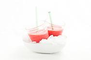 Nederland, Den Bosch 2, 20100623..Strawberry smoothie.Den Bosch Kookt 2