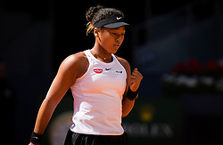May 5, 2019 - Madrid, MADRID, SPAIN - Naomi Osaka of Japan in action during her first-round match at the 2019 Mutua Madrid Open WTA Premier Mandatory tennis tournament (Credit Image: © AFP7 via ZUMA Wire)