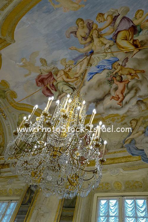 Interior of the Palazzo Reale, Genoa, Italy