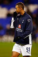 John Bostock. ( Spurs ).  Tottenham Hotspur Vs Spartak Moscow at White Hart Lane London UEFA Cup Group D. 18/12/2008. <br /> Credit Colorsport / Kieran Galvin