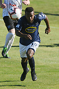 Auckland City Micah Lea'Alafa in action in the Handa Premiership football match, Hawke's Bay v Auckland, Bluewater Stadium, Napier, Sunday, January 20, 2019. Copyright photo: Kerry Marshall / www.photosport.nz