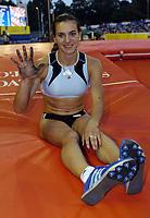 Friidrett<br /> Foto: SBI/Digitalsport<br /> NORWAY ONLY<br /> <br /> 22/07/2005 Crystal Palace Grand Prix<br /> <br /> Yelena Isinbayeva breaks the womens pole vault world record of 5 metres.