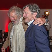 NLD/Amsterdam/20190701 - Uitreiking Johan Kaartprijs 2019,  Pierre Bokma en Chiem van Houweninge