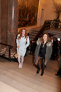 ODESSA RAE; DIXIE CHASSAY, Opening of David Hockney ' A Bigger Picture' Royal Academy. Piccadilly. London. 17 January 2012