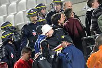 FOOTBALL - FRENCH CHAMPIONSHIP 2009/2010 - L2 - FC METZ v ARLES AVIGNON - 23/04/2010 - PHOTO GUILLAUME RAMON / DPPI - CRS AND ULTRAS