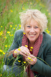Carol Klein with buttercups