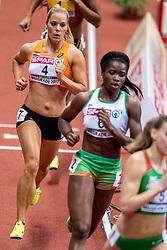 03-03-2017  SRB: European Athletics Championships indoor day 1, Belgrade<br /> In een lege Kombank Arena wordt de eerste dag van het Europees Kampioenschap gehouden / Nadine Broersen