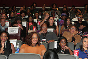 September 20, 2012- New York, New York:  Audience with Actress Tika Sumpter and Actress Gabrielle Union attend the 2012 Urbanworld Film Festival Opening night premiere screening of  ' Being Mary Jane ' presented by BET Networks held at AMC 34th Street on September 20, 2012 in New York City. The Urbanworld® Film Festival is the largest internationally competitive festival of its kind. The five-day festival includes narrative features, documentaries, and short films, as well as panel discussions, live staged screenplay readings, and the Urbanworld® Digital track focused on digital and social media. (Terrence Jennings)