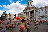 World Naked Bike Ride, Brussels