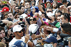October 26, 2017 - Mexico-City, Mexico - Motorsports: FIA Formula One World Championship 2017, Grand Prix of Mexico, ..#44 Lewis Hamilton (GBR, Mercedes AMG Petronas F1 Team) (Credit Image: © Hoch Zwei via ZUMA Wire)