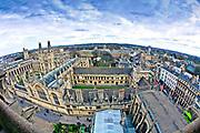 Oxford 2009-03-07. Miasto w południowej Anglli głównie znane jako siedziba Uniwersytetu Oxfordzkiego. All Souls College,