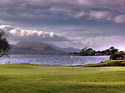 The 1st hole Killarney Golf Club, nestled on the shores of Lough lein, Killarney, Ireland.<br /> Picture by Don MacMonagle