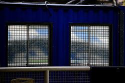 Reflection of a wet Memorial stadium - Mandatory by-line: Dougie Allward/JMP - 03/10/2020 - FOOTBALL - Memorial Stadium - Bristol, England - Bristol Rovers v Northampton Town - Sky Bet League One