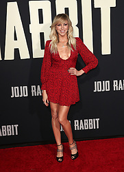 Jojo Rabbit Premiere - Los Angeles. 15 Oct 2019 Pictured: Debbie Gibson. Photo credit: Jen Lowery / MEGA TheMegaAgency.com +1 888 505 6342