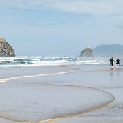 Cannon Beach. Oregon Coast.