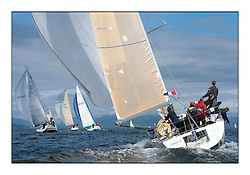 Largs Regatta Week - August 2012.Round the Island Race.IRL1666,  Carmen 2, Alan Jeffrey/Paul Scutt.