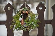 SERIES - UNRLIABLE-SIGHTINGS by PAUL WILLIAMS- Christmas wreath Valem Hungary