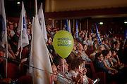 Tour elettorale di Giorgia Meloni per le amministrative della capitale al teatro Conciliazione, Roma 28 maggio 2016. Christian Mantuano / OneShot