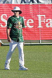29 July 2017: Bobby Dernier - Legends Baseball game sponsored by the Normal CornBelters at Corn Crib Stadium on the campus of Heartland Community College in Normal Illinois