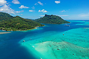 Fare, Huahine, Society Islands, French Polynesia; South Pacific