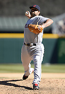 CHICAGO - APRIL 09:  Joba Chamberlain #62 of the Cleveland Indians pitches against the Chicago White Sox on April 9, 2016 at U.S. Cellular Field in Chicago, Illinois.  The White Sox defeated the Indians 7-3.  (Photo by Ron Vesely)  Subject: Joba Chamberlain