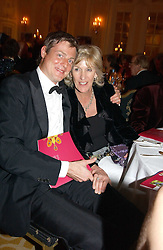 ZAC GOLDSMITH and ANNABEL ELLIOT at a dinner in aid of the BAAF (British Association for Adoption & Fostering) held at The Savoy, London on 22nd March 2005.<br /><br />NON EXCLUSIVE - WORLD RIGHTS