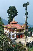 Bhutia Busty Monastery, Darjeeling, West Bengal, India