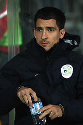 Branko Ilic of Slovenia at the 8th day qualification game of 2010 FIFA WORLD CUP SOUTH AFRICA in Group 3 between Slovenia and Czech Republic at Stadion Ljudski vrt, on March 28, 2008, in Maribor, Slovenia. Slovenia vs Czech Republic 0 : 0. (Photo by Vid Ponikvar / Sportida)