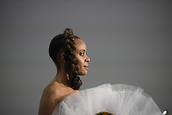August 19, 2017 - Toronto, Ontario, Canada - A model  during the 4th day of African Fashion Week in Toronto, Canada on 19 August 2017. (Credit Image: © Arindam Shivaani/NurPhoto via ZUMA Press)