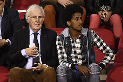 October 12, 2018 - Brussels, BELGIUM - Soccer Union prosecutor Marc Rubens (L) pictured at a soccer game between Belgian national team the Red Devils and Switzerland in Brussels, Friday 12 October 2018, the second game in group 2 of the UEFA Nations League A competition...BELGA PHOTO DIRK WAEM (Credit Image: © Dirk Waem/Belga via ZUMA Press)