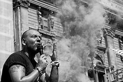 Manifestazione a Taranto indetta a seguito del provvedimento di sequestro dell'area a caldo di ILVA - Luglio 2012