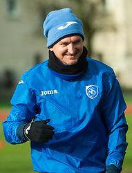 Andraz Kirm of Bravo during first practice session of NK Bravo before the spring season of Prva liga Telekom Slovenije 2020/21, on January 5, 2021 in Sports park ZAK, Ljubljana Slovenia. Photo by Vid Ponikvar / Sportida