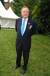 ANDREW PARKER-BOWLES at a reception for the Friends of The Castle of Mey held at The Goring Hotel, London on 20th May 2008.<br />
