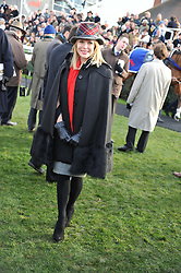 AMANDA HOLDEN at the 2012 Hennessy Gold Cup at Newbury Racecourse, Berkshire on 1st December 2012