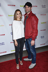 """Rachael Leigh Cook and Daniel Gillies at the """"Broken Star"""" Los Angeles Premiere held at the TCL Chinese 6 Theatres on July 18, 2018 in Hollywood, Ca."""