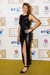 Ashleigh Ball during the BT Olympic Ball, held at the Grosvenor Hotel, London, UK, November 30, 2012. Photo By Anthony Upton / i-Images.