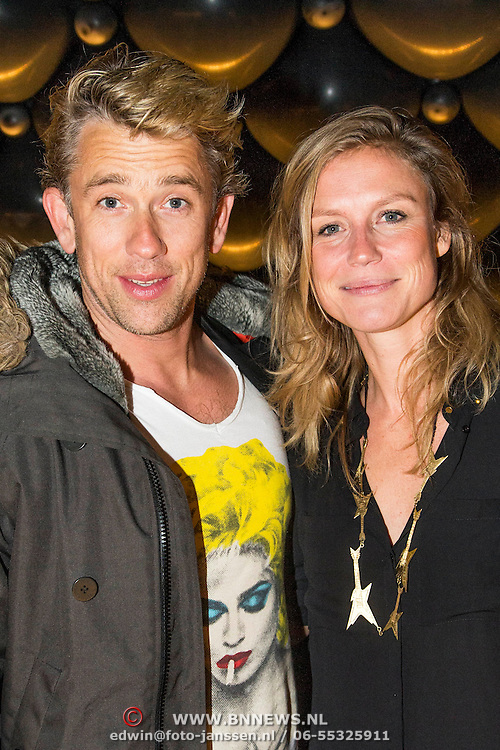 NLD/Amsterdam//20140329 - Emma Fund Raising 2014, Waldemar Torenstra en partner Sophie Hilbrand