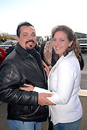 12/7/09 - 11:27:33 AM - FORTESCUE, NJ: Diana & Ken - December 7, 2009 - Fortescue, New Jersey. (Photo by William Thomas Cain/cainimages.com)