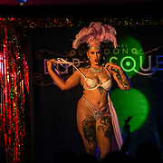 London,England,UK. 22th May 2017. Saskia de Muir *Adelaide, Australia preforms at the London Burlesque Festival 2017 - Tattoo Revue at Moth Club, Hackney,London,UK. by See Li