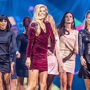 NLD/Hilversum/20160926 - Finale Miss Nederland 2016, Denise Zwier, Djerra Zwaan