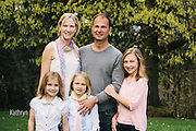 Ryan and Inga Family Portrait on Mt. Tabor