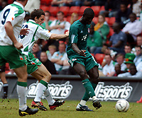 REPUBLIC OF IRELAND/NIGERIA UNITY CUP 29.05.04 <br />