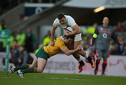 December 3, 2016 - London, England, United Kingdom - England's Jonny May during Old Mutual Wealth Series match between England against Australia at Twickenham stadium , London, Britain on 3 December 2016. (Credit Image: © Kieran Galvin/NurPhoto via ZUMA Press)