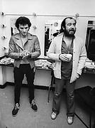 Nazareth backstage London Hammersmith Odeon 1980