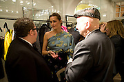 ALBER ELBAZ;  YASMIN LE BON, STEPHEN JONES. The Launch of the Lanvin store on Mount St. Presentation and cocktails.  London. 26 March 2009